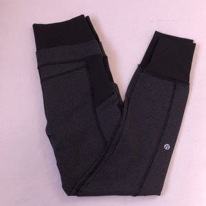 Lululemon Gray and Black Trousers - 6